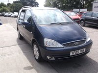 USED 2005 05 FORD GALAXY 1.9 GHIA TDDI 5d 130 BHP Part Exchange Priced To Clear.