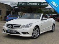 USED 2010 10 MERCEDES-BENZ E CLASS 3.0 E350 CDI BLUEEFFICIENCY SPORT 2d 231 BHP High Specification 4 Seat Convertible