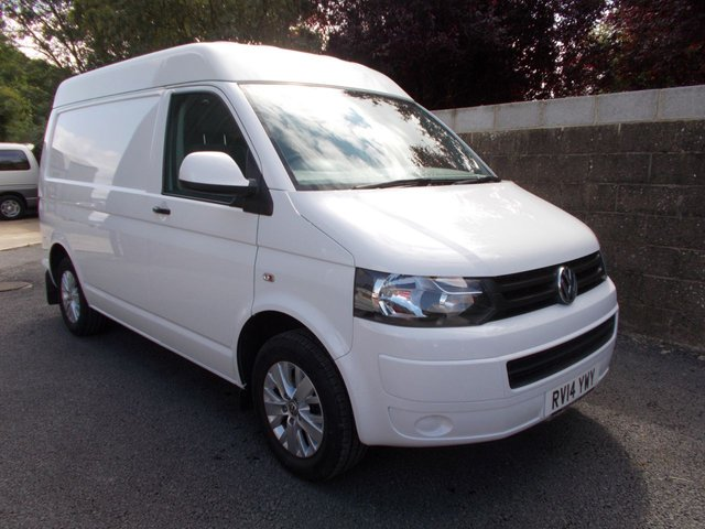2014 14 VOLKSWAGEN TRANSPORTER T30 2.0 TDI STARTLINE Air Con and Tailgate