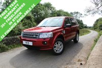 2012 LAND ROVER FREELANDER 2 2.2 TD4 XS 5d 150 BHP (FREE 2 YEAR WARRANTY) £SOLD