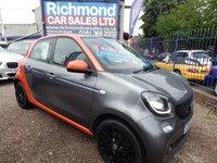 2015 SMART FORFOUR 1.0 EDITION1 5d 71 BHP £4995.00