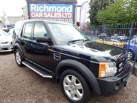 USED 2008 08 LAND ROVER DISCOVERY 2.7 3 TDV6 HSE 5d AUTO 188 BHP LEATHER INTERIOR, 7 SEATS, SUNROOF, COLOUR SAT NAV