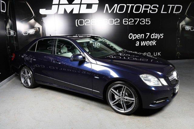 2011 MERCEDES-BENZ E CLASS E250 CDI B.E. AVANTGARDE NIGHT EDITION STYLE AUTO 204 BHP (FINANCE AND WARRANTY)