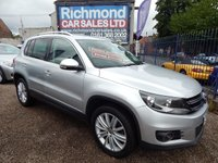 USED 2012 12 VOLKSWAGEN TIGUAN 2.0 SPORT TDI 4MOTION 5d 168 BHP GREAT VALUE 4X4, AIR CONDITIONING, ALLOY WHEELS,