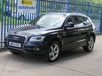 USED 2013 13 AUDI Q5 3.0 TDI QUATTRO S LINE 5dr Auto Sat nav Full leather DAB Heated seats Finance arranged Part exchange available Open 7 days