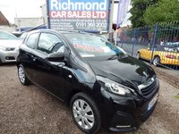 USED 2016 16 PEUGEOT 108 1.0 ACTIVE 3d 68 BHP 12 MTH MOT, LOW INSURANCE, CHEAP ROAD TAX, IDEAL 1ST CAR