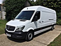 USED 2017 17 MERCEDES-BENZ SPRINTER 2.1 314CDI 1d 140 BHP EURO 6 FOR LONDON Euro 6 for London, Just Serviced, 130 BHP