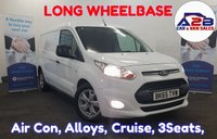 2015 FORD TRANSIT CONNECT 1.6 240 LIMITED  114 BHP Long wheelbase, Air Con, Cruise Control, Bluetooth, Alloys, Heated Screen and much more.... £9480.00