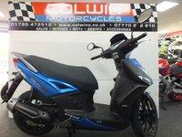 2019 KYMCO AGILITY CITY 125 PLUS MODEL £2299.00