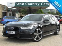 USED 2016 16 AUDI A6 2.0 AVANT TDI ULTRA BLACK EDITION 5d AUTO 188 BHP Reliable And Economical Estate