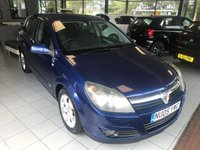 USED 2005 05 VAUXHALL ASTRA 1.6 SXI 16V TWINPORT 5d 100 BHP **PART EXCHANGE TO CLEAR**