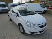 2009 VAUXHALL CORSA 1.3 CDTI 73 BHP ex- BT VAN - **NO VAT TO PAY** £2495.00