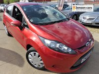 2009 FORD FIESTA 1.2 STYLE PLUS 5d 81 BHP £3290.00
