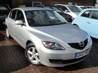 USED 2007 57 MAZDA 3 1.6 TS 5d 105 BHP ANY PART EXCHANGE WELCOME, COUNTRY WIDE DELIVERY ARRANGED, HUGE SPEC