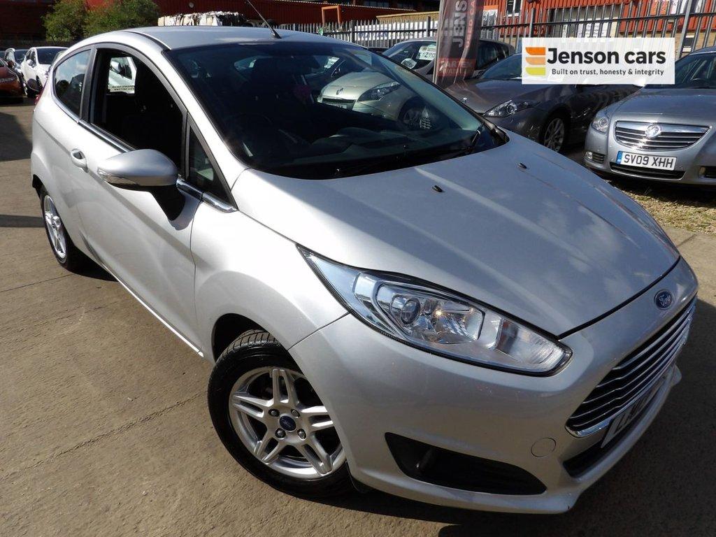 2013 Ford Fiesta Zetec £3,790