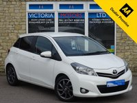 USED 2012 62 TOYOTA YARIS 1.3 VVT-I TREND [REAR CAMERA] 5 Dr