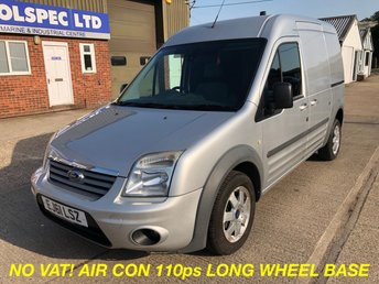 2011 FORD TRANSIT CONNECT 1.8 T230 LIMITED LWB HIGH ROOF 110 BHP NO VAT! £4500.00