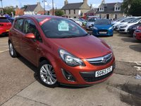 USED 2013 63 VAUXHALL CORSA 1.4 SE 5d AUTO 98 BHP Low mileage automatic with full service history