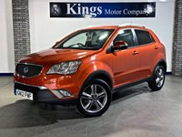 2012 SSANGYONG KORANDO 2.0 D LIMITED EDITION 5dr £5990.00