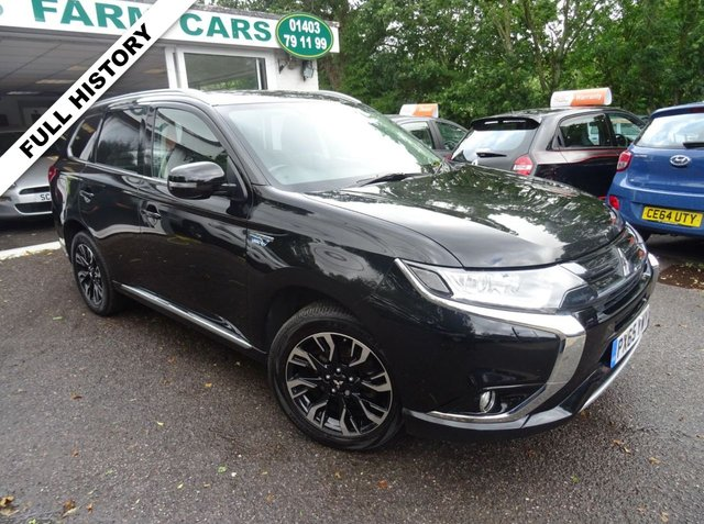 2015 65 MITSUBISHI OUTLANDER 2.0 PHEV GX 3H PLUS PLUG-IN HYBRID 4x4 5d AUTOMATIC 161 BHP FOUR WHEEL