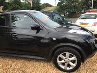 USED 2012 62 NISSAN JUKE 1.6 ACENTA 5d 117 BHP BEAUTIFUL CONDITION THROUGHOUT