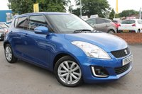 USED 2015 65 SUZUKI SWIFT 1.2 SZ4 5d AUTO 94 BHP SUPER LOW MILEAGE - JUST ONE OWNER - VERY RARE AUTOMATIC EXAMPLE - MUST BE VIEWED