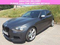 USED 2013 13 BMW 1 SERIES 2.0 120D M SPORT AUTO 5d 181 BHP BLACK LEATHER | HEATED SEATS |