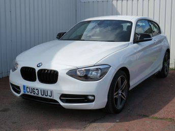 2013 BMW 1 SERIES 2.0 116D SPORT 3d 114 BHP £8495.00