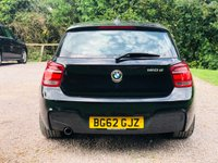 USED 2012 62 BMW 1 SERIES 2.0 120D M SPORT 5d 184 BHP