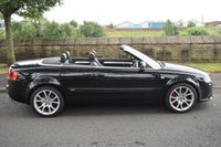 USED 2008 08 AUDI A4 2.0 T FSI SPECIAL EDITION 2d CONVERTIBLE 197 BHP SERVICE HISTORY, SPORTS LEATHER, ELECTRIC SOFTTOP, ALLOY WHEELS