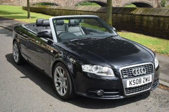 2008 AUDI A4 2.0 T FSI SPECIAL EDITION 2d CONVERTIBLE 197 BHP £5450.00