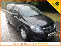 USED 2014 63 VAUXHALL ZAFIRA 1.7 EXCLUSIV CDTI ECOFLEX 5d 108 BHP Great Value Vauxhall Zafira Diesel with Seven Seats, Air conditioning, Electric Windows, Electric Door Mirrors and Service History.