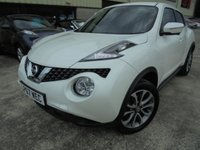 USED 2018 67 NISSAN JUKE 1.2 TEKNA DIG-T 5d 115 BHP Excellent Condition, FSH, Low Rate Finance Available, No Deposit Necessary, Part Ex Welcomed