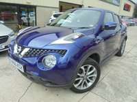 USED 2017 66 NISSAN JUKE 1.5 TEKNA DCI 5d 110 BHP Excellent Condition, One Owner, FSH, Low Rate Finance Available, No Deposit Necessary