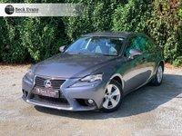 USED 2014 14 LEXUS IS 2.5 300H SE 4d AUTO 220 BHP