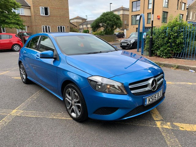 2015 15 MERCEDES-BENZ A CLASS 1.6 A180 BLUEEFFICIENCY SPORT 5d AUTO 122 BHP