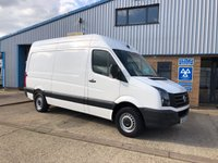 2016 VOLKSWAGEN CRAFTER 2.0 CR35 TDI H/R MWB High Roof. P/V 1d 109 BHP £8795.00