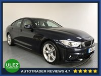 USED 2016 16 BMW 4 SERIES 2.0 420D M SPORT GRAN COUPE 4d AUTO 188 BHP BMW HISTORY - 1 OWNER - SAT NAV - LEATHER - PARKING SENSORS - AIR CON  -BLUETOOTH - DAB RADIO