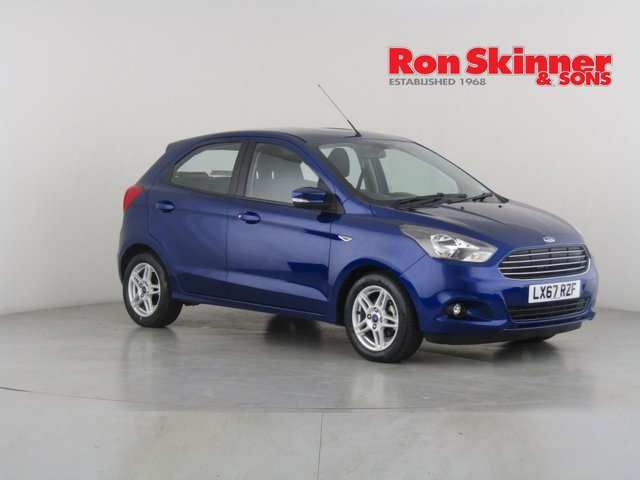 View our 2017 67 FORD KA+ 1.2 ZETEC 5d 84 BHP
