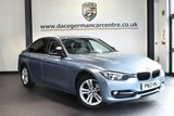 """USED 2013 13 BMW 3 SERIES 2.0 316D SPORT 4DR 114 BHP excellent service history * NO ADMIN FEES * FINISHED IN STUNNING LIQUID METALLIC BLUE WITH ANTHRACITE UPHOLSTERY + EXCELLENT SERVICE HISTORY + BLUETOOTH + CRUISE CONTROL + LIGHT PACKAGE + RAIN SENSORS + AUTO AIR CON + PARKING SENSORS + 17"""" ALLOY WHEELS"""