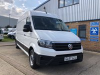 USED 2017 67 VOLKSWAGEN CRAFTER 2.0 CR35 TDI LWB HIGH ROOF H/R P/V STARTLINE 1d 140 BHP NEW MODEL LWB HIGH ROOF WITH 140 BHP, NEW MODEL, LOW MILEAGE READY TO GO !!! FINANCE TODAY !!!!