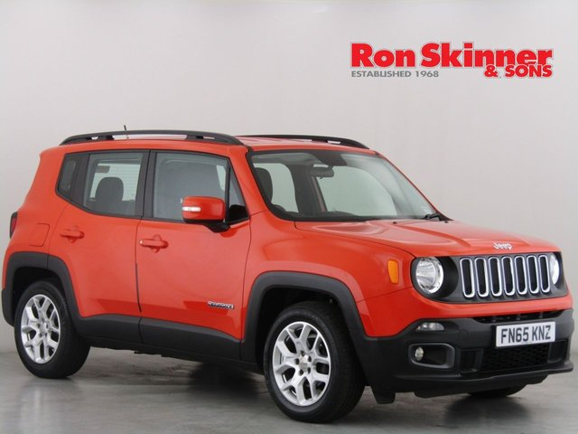 View our 2015 65 JEEP RENEGADE 1.4 LONGITUDE 5d 138 BHP
