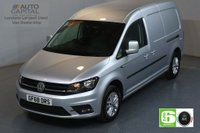 USED 2018 68 VOLKSWAGEN CADDY MAXI 2.0 C20 TDI HIGHLINE 102 BHP EURO 6 ENGINE AIR CON, SAT NAV, PARKING SENSORS