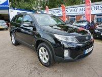 USED 2013 13 KIA SORENTO 2.2 CRDI KX-1 5d 194 BHP 0%  FINANCE AVAILABLE ON THIS CAR PLEASE CALL 01204 393 181