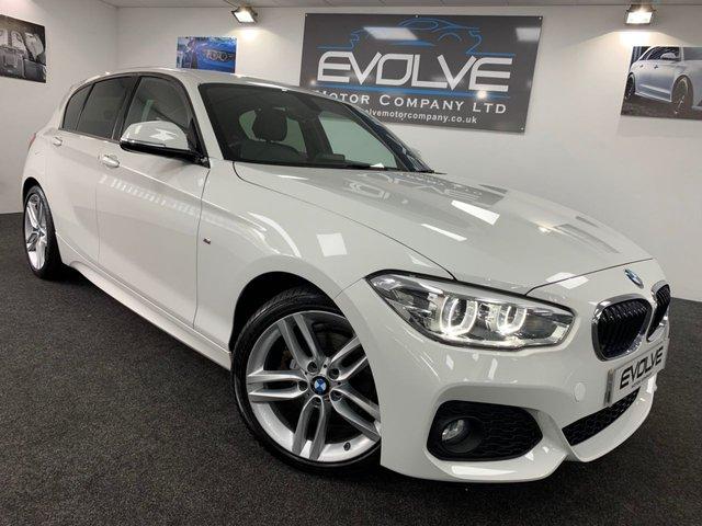 2016 16 BMW 1 SERIES 1.6 120I M SPORT 5d AUTO 167 BHP