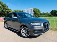 2016 AUDI Q7 3.0 TDI QUATTRO S LINE 5d AUTO 269 BHP £SOLD