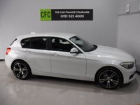USED 2012 62 BMW 1 SERIES 2.0 116D SPORT 5d 114 BHP BMW SERVICE HISTORY,  STUNNING ALPINE WHITE, 17 ALLOYS