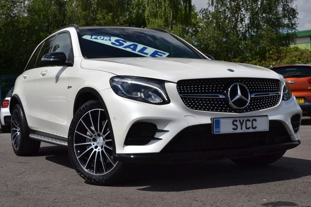 "USED 2016 66 MERCEDES-BENZ GLC-CLASS 3.0 AMG GLC 43 4MATIC PREMIUM PLUS 5d AUTO 362 BHP HUGE SPECIFICATION CAR ~ PAN ROOF ~ 20"" ALLOYS ~ NIGHT PACK"