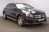 USED 2016 16 MERCEDES-BENZ GLA-CLASS 2.1 GLA 220 D 4MATIC 4 X 4 AMG LINE 5DR AUTO HALF LEATHER SEATS 1 OWNER 174 BHP FULL SERVICE HISTORY + HALF LEATHER SEATS + REVERSE CAMERA + BLUETOOTH + PARKING SENSOR + CRUISE CONTROL + CLIMATE CONTROL + MULTI FUNCTION WHEEL + PRIVACY GLASS + ELECTRIC WINDOWS + ELECTRIC MIRRORS + 18 INCH ALLOY WHEELS