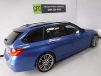 USED 2014 14 BMW 3 SERIES 2.0 318D M SPORT TOURING 5d AUTO 141 BHP ONE PREVIOUS OWNER, FULL BMW SERVICE HISTORY, ESTORIL BLUE
